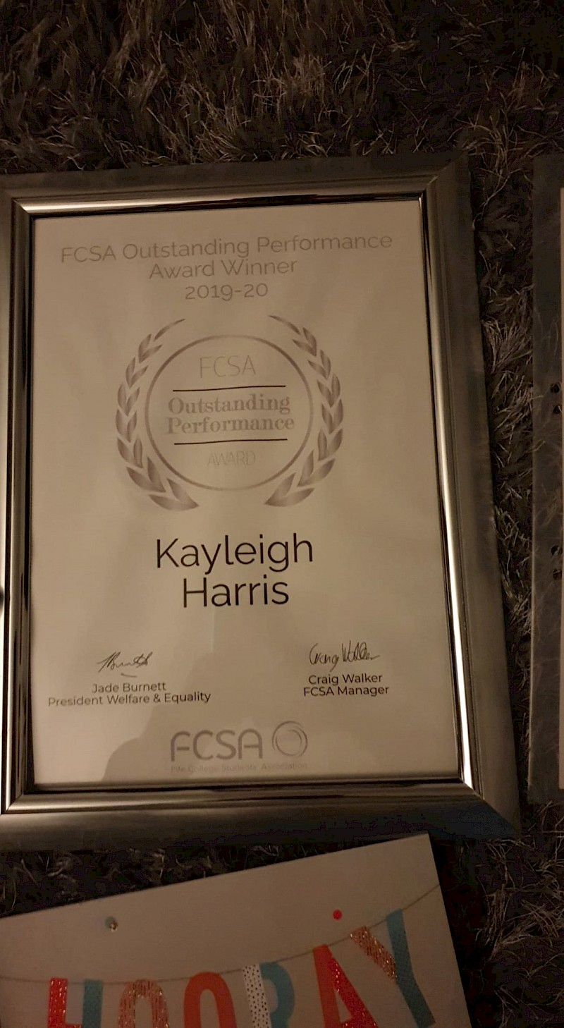 Outstanding Performance for Kayleigh